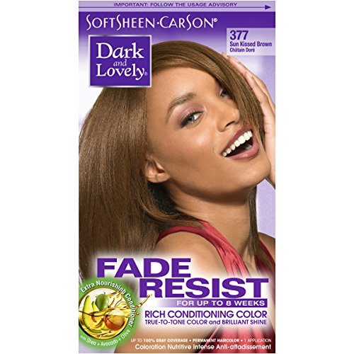 SoftSheen Carson dark and lovely hair color, #377 Brown Sunkissed - 1 Ea (Haarfarbe) -