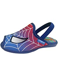 Chispas 278 - Zapatillas de estar por casa infantil niño spiderman con elastigo