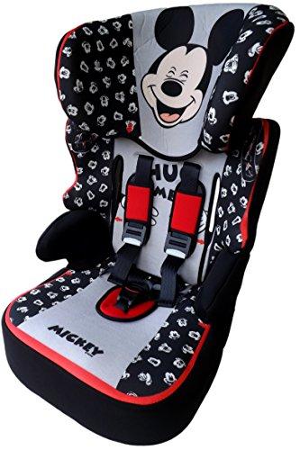 Disney MICKEY MOUSE Beline Kindersitz KINDER AUTOSITZ BABY SITZ GRUPPE 1/2/3 9-36kg