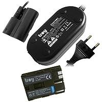 Batterie pour BP511 + Bloc d'alimention pour ACKE2 Compatible Canon PowerShot G1 G2 G3 G5 G6 Pro1 Pro 90 EST EOS 5D EOS 50D EOS 10D EOS 20D EOS 20Da EOS 30D EOS 40D EOS 300D