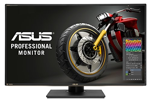 ASUS PA329Q 32-inch Professional Monitor, 4K 3840 x 2160 (IPS, Quantum Dot, 99.5% Adobe RGB, Flicker free, Low Blue Light, TUV certified)