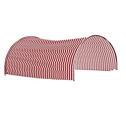Steens 2909660956000 Tunnelzelt Circus, 93 x 70 cm, rot / weiß
