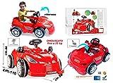StrMy MACCHINA A PEDALI per bambini auto rossa cavalcabile go kart a pedali art.498