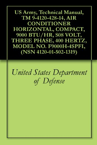 us-army-technical-manual-tm-9-4120-428-14-air-conditioner-horizontal-compact-9000-btu-hr-s08-volt-th