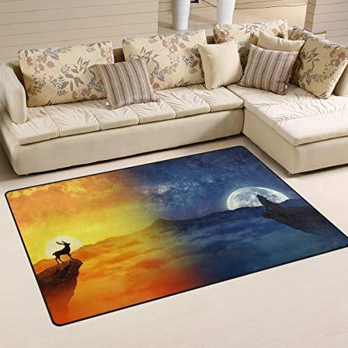 XiangHeFu - Alfombras para salón, Comedor, Dormitorio, Decorativas, para Chimenea y Agua, para Sol...