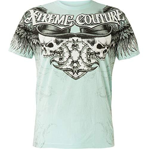 Xtreme Couture by Affliction T-Shirt Havisham Hellblau, M - Affliction T-shirts