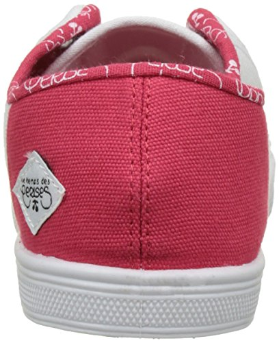 Le Temps des Cerises Basic 02-slide_slide, Baskets Basses Femme red