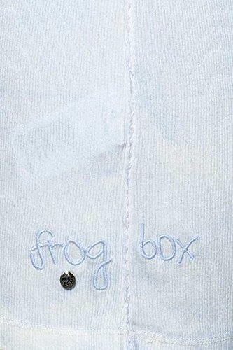Frogbox Damen Shirt, Cooles Top, Farbe: Gelb, MIA Blau