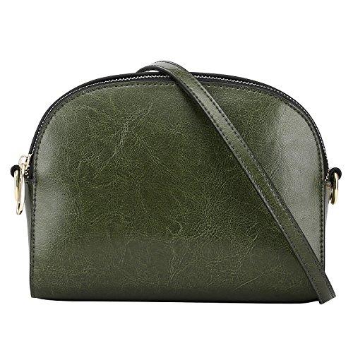 S-ZONE, Borsa a mano donna grigio Grey Verde
