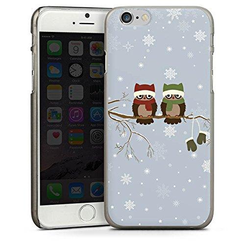 Apple iPhone 5s Housse étui coque protection Hibou Hibou Uhu CasDur anthracite clair