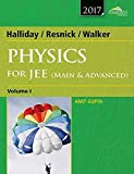 Wiley's Halliday / Resnick / Walker Physics for JEE (Main & Advanced), Vol 1, 2017ed