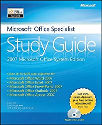 The Microsoft Office Specialist Study Guide (Bpg Other)