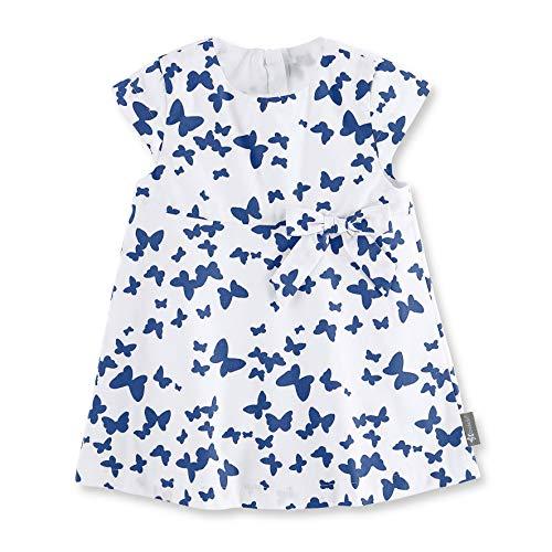 Sterntaler Baby - Mädchen Robe Bébé Kleid, Weiß (Weiss 500), 6-9 Monate (Herstellergröße: 74)