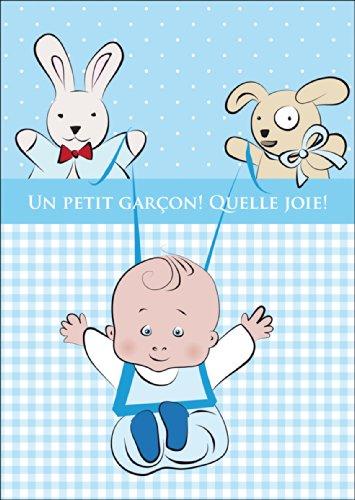 carte-de-bebe-garcon-carte-de-felicitations-pour-la-naissance-avec-vichy-karo-en-bleu-bebe-et-animau