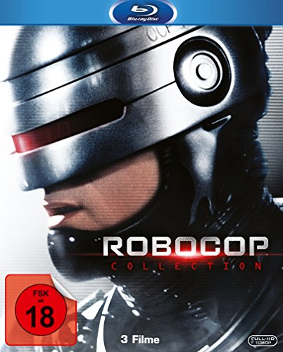 Robocop 1-3 Collection [Blu-ray] Uncut Radar