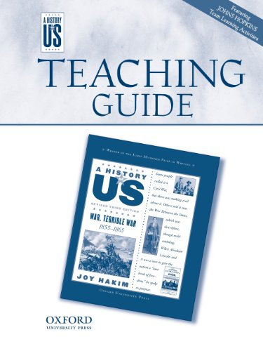 War Terrible War Middle/High School Teaching Guide, a History of Us: Teaching Guide Pairs with a History of Us: Book Six (History of US (Paperback))