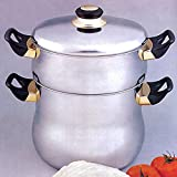 SA-FA Couscous Kuskus Topf Bulgur 6 Liter Nudeln Spaghetti Reis Wasser 18/10 Edelstahl