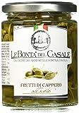 Produkt-Bild: Le Bonta'del Casale Frutti di Caperi all'Aceto - Kapern in mildem Essig, 2er Pack (2 x 280 g)