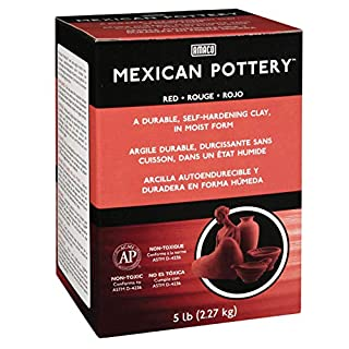 Amaco X-119 5 lb Clay Mexican, Terracotta