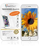 IPhone 6 Gehärtetes Glas Displayschutzfolie [TEMPERED GLASS], Blasenfrei One-Touch Installation, Premium Displayschutzfolie für iPhone 6 6S 7 - 4.7