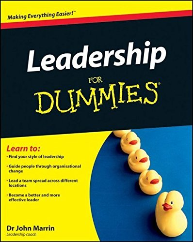 Leadership For Dummies by John Marrin (2012-02-27)