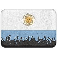 diyabcd único Argentina Bandera Doormats antideslizante para casa jardín puerta alfombra Felpudo piso almohadillas