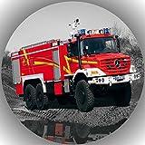 Fondant Tortenaufleger Tortenbild Geburtstag Feuerwehr T11
