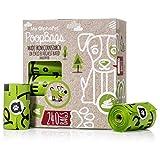 My AlphaPetBolsas Caca Perro Biodegradables – Respetuosa con el Medio Ambiente – EN13432 La Mejor Valorada – 16 Rollos 240 Bolsitas – Tamaño Grande 23x33cm – Bolsas Caca Perro Anti Goteo