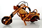 Deko-Motorrad aus Holz - handgearbeitet - sehr detailgenau - Bike