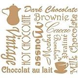 Stencil Deco Vintage Composición 093 Taza Chocolate. Medidas aproximadas:Tamaño del stencil 25 x 25(cm) Tamaño de la figura 21 x 19.2(cm)
