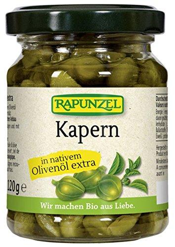 Rapunzel Bio Kapern in Olivenöl (2 x 120 gr) Test