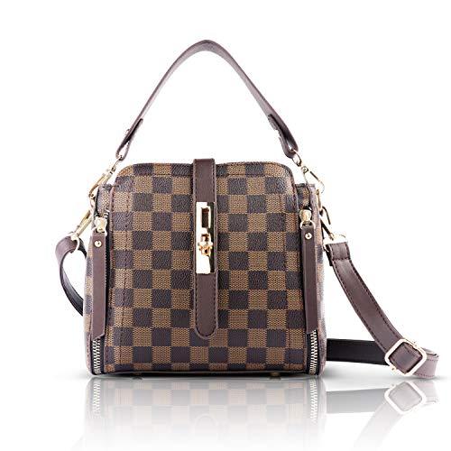 Bag portafoglio vintage donna sacchetto pelle piccolo sacchetto elegante portatile borsa a tracolla donna estiva borsa tracolla impermeabile monospalla borsa tracolla pelle scuola porta borsa tracolla