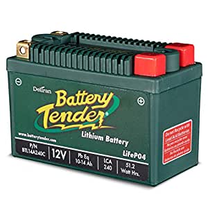 Battery Tender BTL09A120C Batterie Lithium Fer Phosphate, 120 LCA