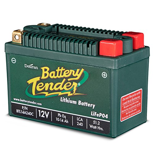 Battery Tender BTL09A120C Batterie Lithium Fer Phosphate, 120 LCA