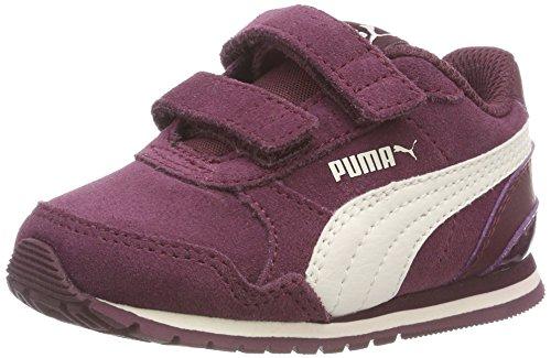 Puma St Runner V2 SD V Inf, Scarpe da Ginnastica Basse Unisex – Bambini, Rosso (Fig-Whisper White 03), 22 EU