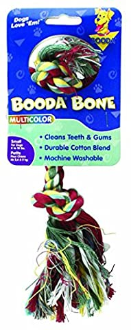 Small 2Knot Rope Dog Bone - Multi-colored - 50771\50722 T