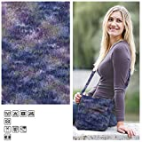 Creative Discount Filzwolle Color, 50g, Fb. 32, Lila Multicolor