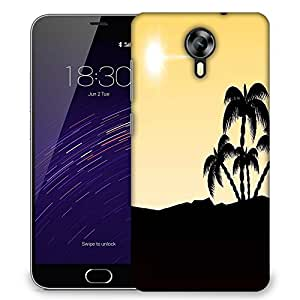 Snoogg beautiful summer backgroun Designer Protective Back Case Cover For Meizu M2