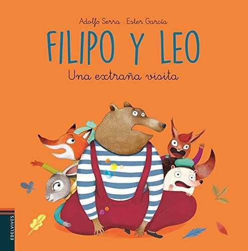 Una extraña visita (Filipo y Leo) por Adolfo Serra del Corral
