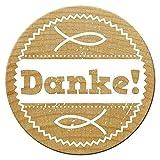 Woodies Stempel, Danke!, Ø 30 mm