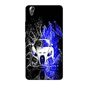 AUTO VEHICLES BACK COVER FOR LENOVO A6000