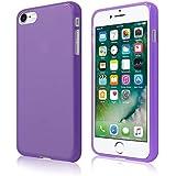 Coque Ultra Fine en Gel Flex TPU pour Apple iPhone 7 - Collection Transparent Mat - Violet - par PrimaCase