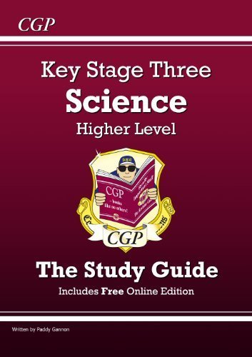 KS3 Science Study Guide (with online edition) - Higher: Revision Guide - Levels 5-7 (Revision Guides) by Paddy Gannon (1998) Paperback