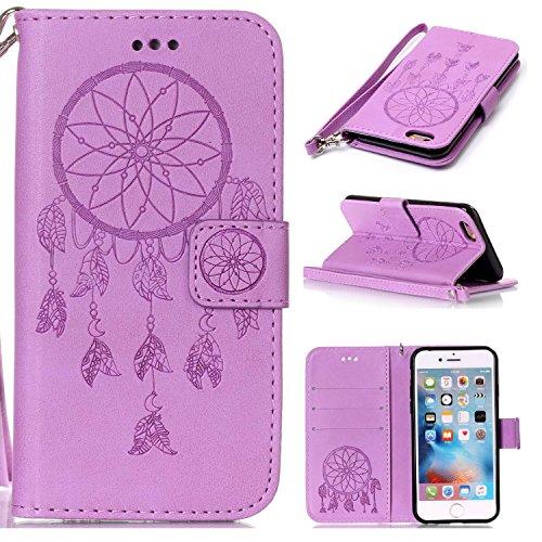 iphone-6-Plus-6S-Plus-Hlle-iphone-6-Plus-6S-Plus-Case-Cozy-hut-Iphone-6-Plus-6S-Plus-55-Zoll-DruckenTraumfngerPU-Ledercase-Tasche-Hllen-Schutzhlle-Scratch-Magnetverschluss-Telefon-Kasten-Handyhlle-Sta