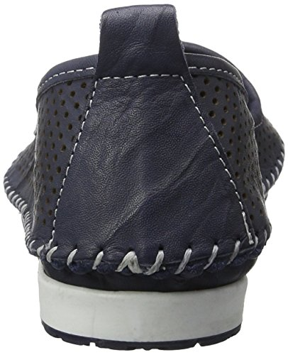 Andrea Conti 0021534 Damen Slipper Blau (Dunkelblau)