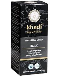 Coloration naturelle bio aux plantes - Noir 100g - Khadi