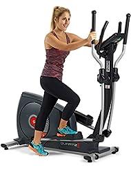 BH Quartz II Crosstrainer Ellipsentrainer Fitness Apps 14 kg Schwungmasse schwarz G2381iFD