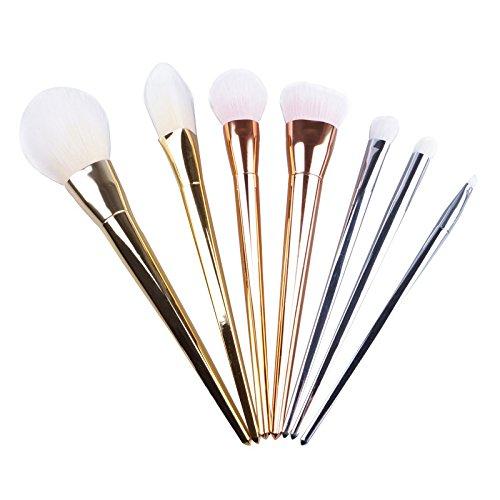 Contever® 7 pcs Brosse Cosmétiques Poudre Fond de teint Anti-cerne Kit Pinceaux Maquillage