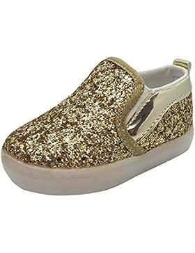 Kleinkind Glitzer LED Leuchtende Sneakers - Gr. 21-25