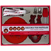 Kit Decora Tus Pasteles. 60 Deliciosas Recetas De Tartas, Galletas Y Cupcakes (Kits Cúpula)